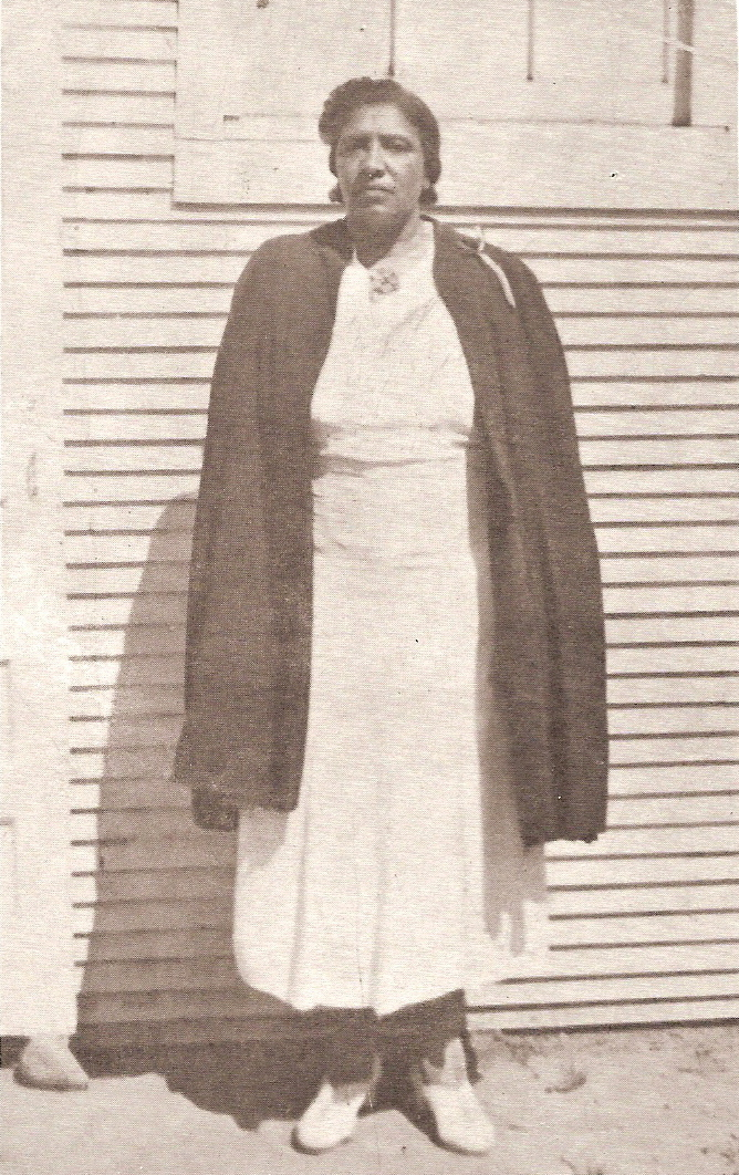 Apostle Karon's grandmother, Mother Hattie Rachel Ferguson