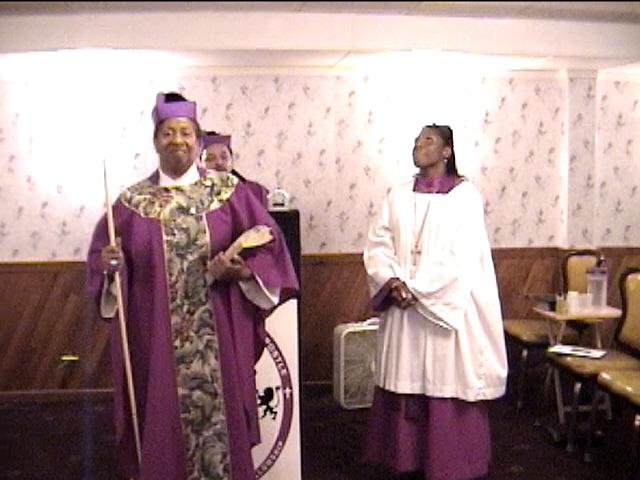 Apostle Karon's Consecration Service