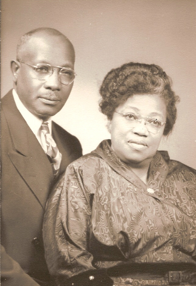 Bishop E. F. & Mother O. B. Morris