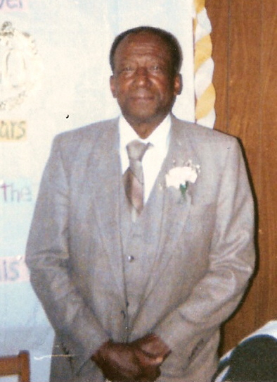 Apostle Karon's father, Elder Russell Edward Williams